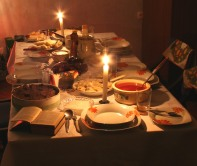 A Traditional Holy Supper Of Ukraine