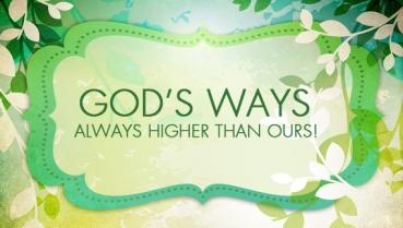 Image result for God's Ways