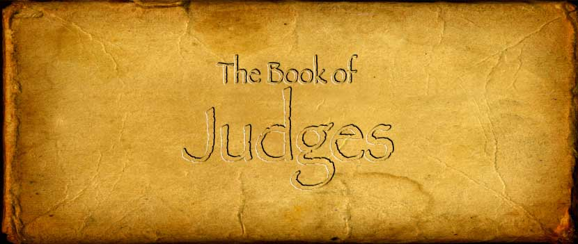 the book of judges Judges 1 - niv: after the death of joshua what is the book of judges all about what's the book of judges all about scripture quoted by permission.